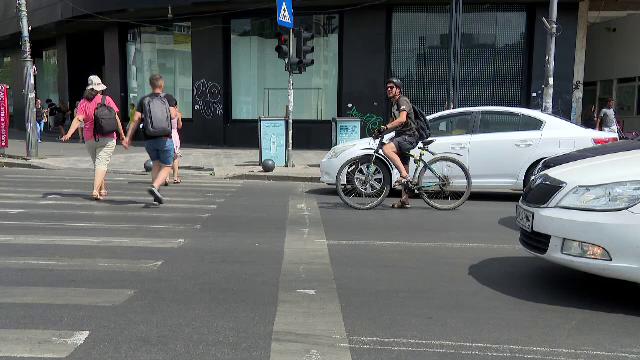 Un nou tip de marcaj rutier în Capitală. Ce vor fi obligați șoferii să facă