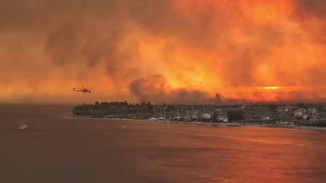 """Premierul elen, despre incendiile de vegetație: """"Grecia se confruntă cu o criză fără precedent"""""""