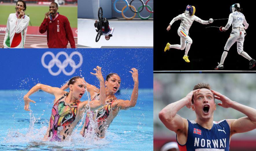 Jocurile Olimpice, în imagini. Momente memorabile imortalizate la Tokyo. GALERIE FOTO