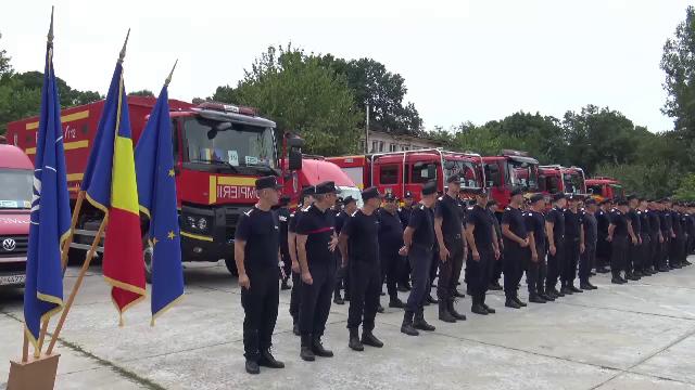 O treime din Grecia este sub cod roșu de incendii. 100 de pompieri români au plecat să ajute