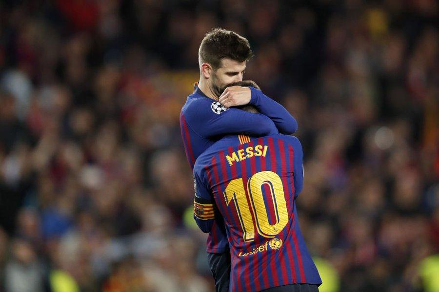 Pique, mesaj înduioșător pentru Messi: Nimic nu va mai fi la fel. Te iubesc, Leo