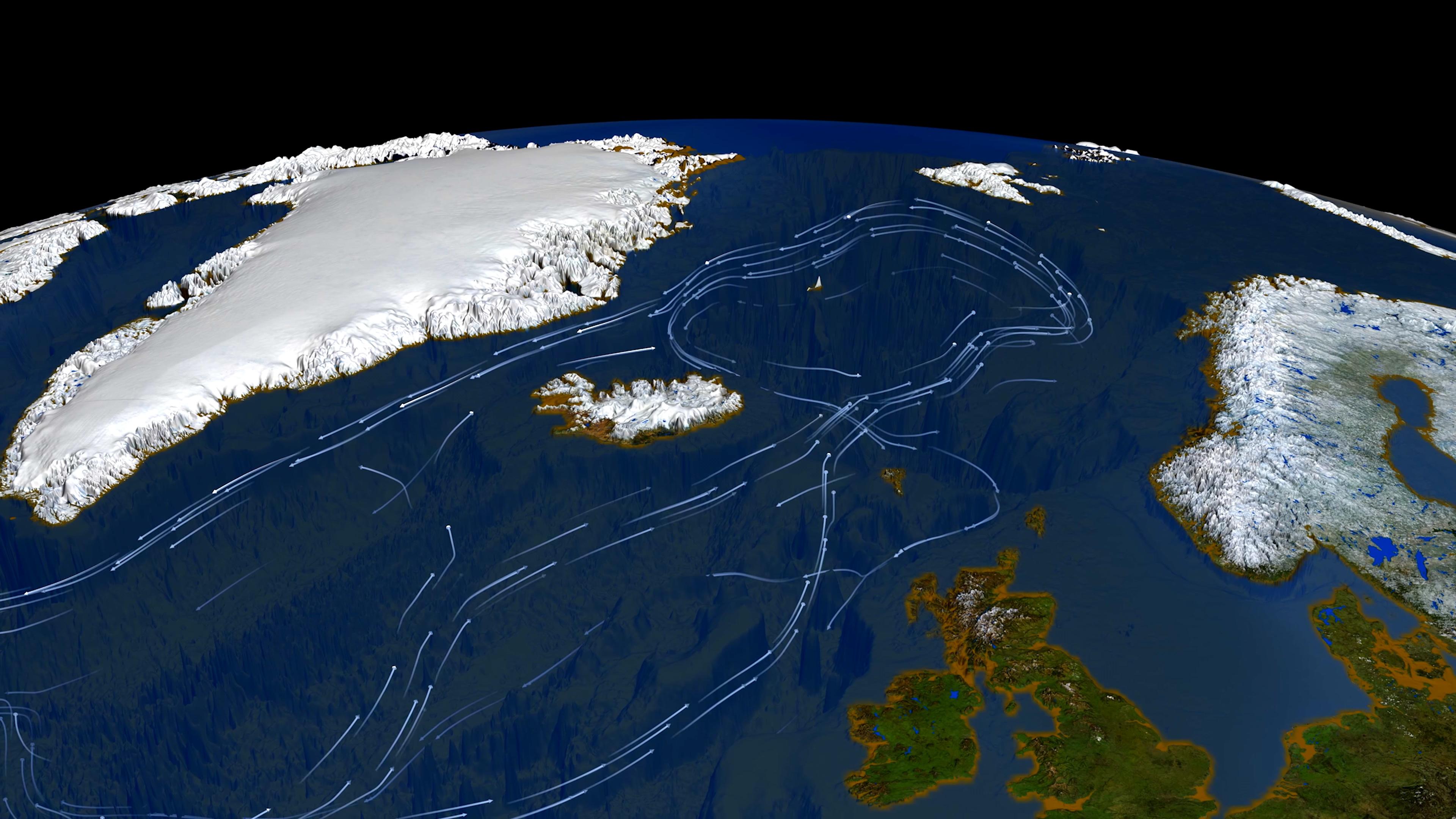 """Un sistem de curenți din Oceanul Atlantic prezintă semne de instabilitate. """"Prăbușirea"""" sa ar avea consecințe grave"""