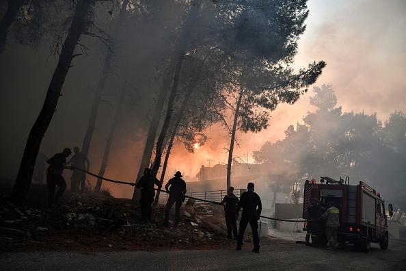 Imagini de coșmar în Grecia, transformată într-un imens cuptor. Corespondență Știrile PRO TV din Atena