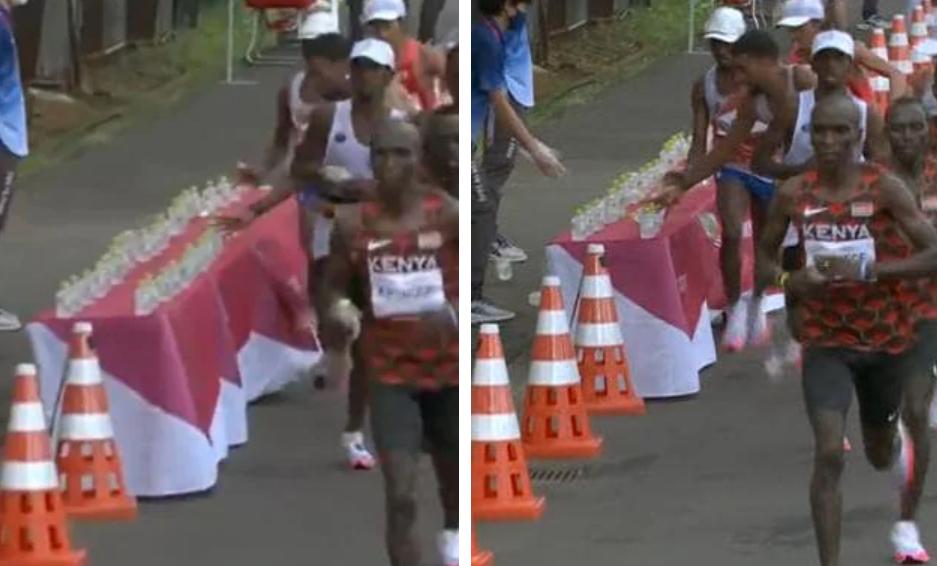 """""""Sper să fie descalificat"""". Maratonistul care a înfuriat spectatorii cu gestul său. VIDEO"""