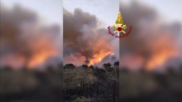 Sicilia, în stare de urgenţă pentru şase luni din cauza incendiilor de vegetaţie