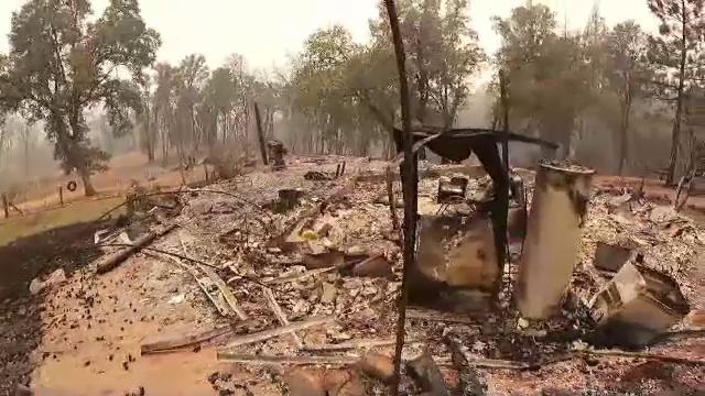 Mii de persoane au fost evacuate dintr-o zonă turistică din California, ameninţată de incendiul Caldor Fire