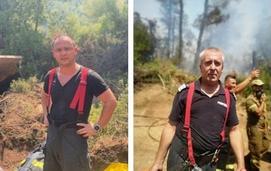"""Pompierii români au fost lăudaţi în presa din Grecia. """"Par să provină de pe o altă planetă"""""""