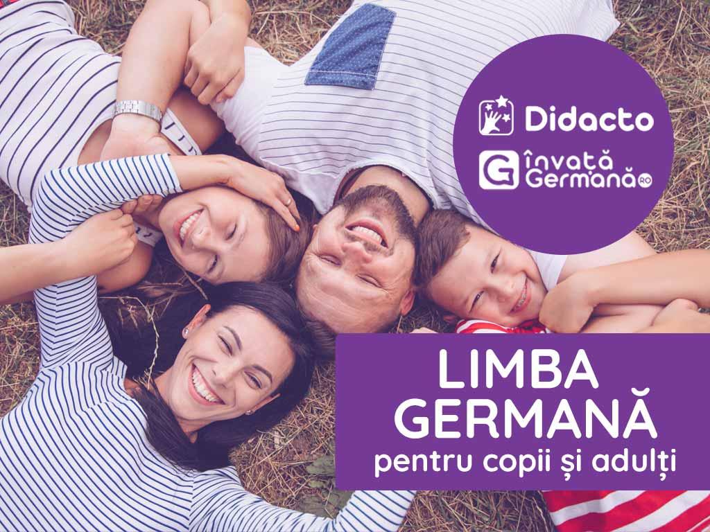 (P) Limba germană pentru copii și adulți - o multitudine de oportunități