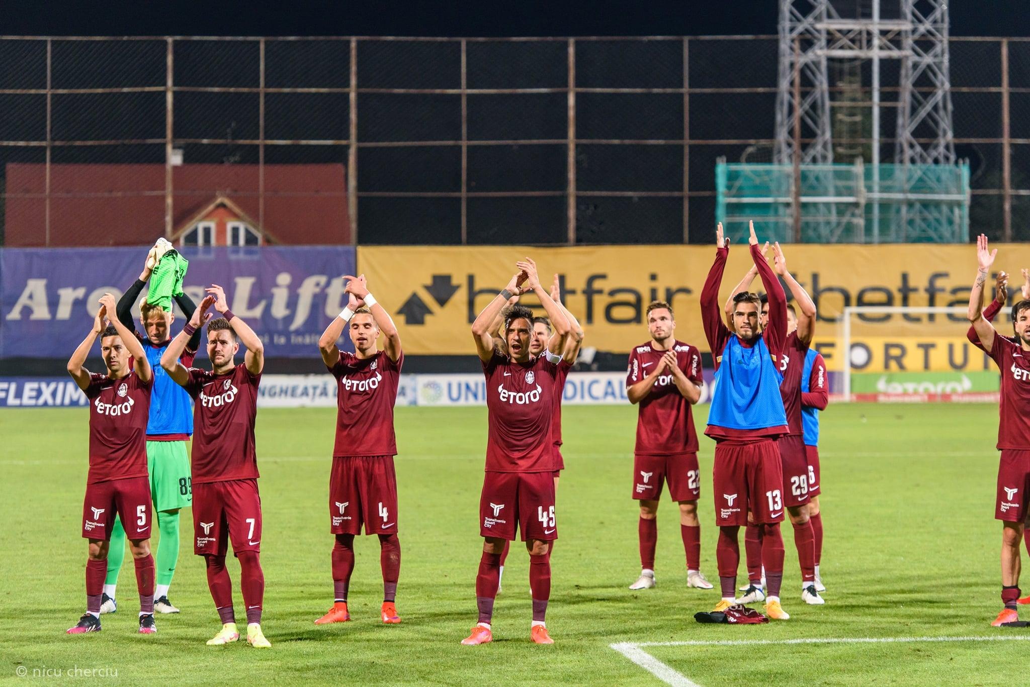 Young Boys Berna- CFR Cluj 3-1, în Liga Campionilor. Românii au deschis scorul, dar apoi a urmat dezastrul