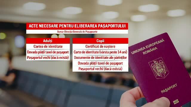 Aglomerație la serviciie de pașapoarte. Cum pot fi evitate cozile mari de așteptare