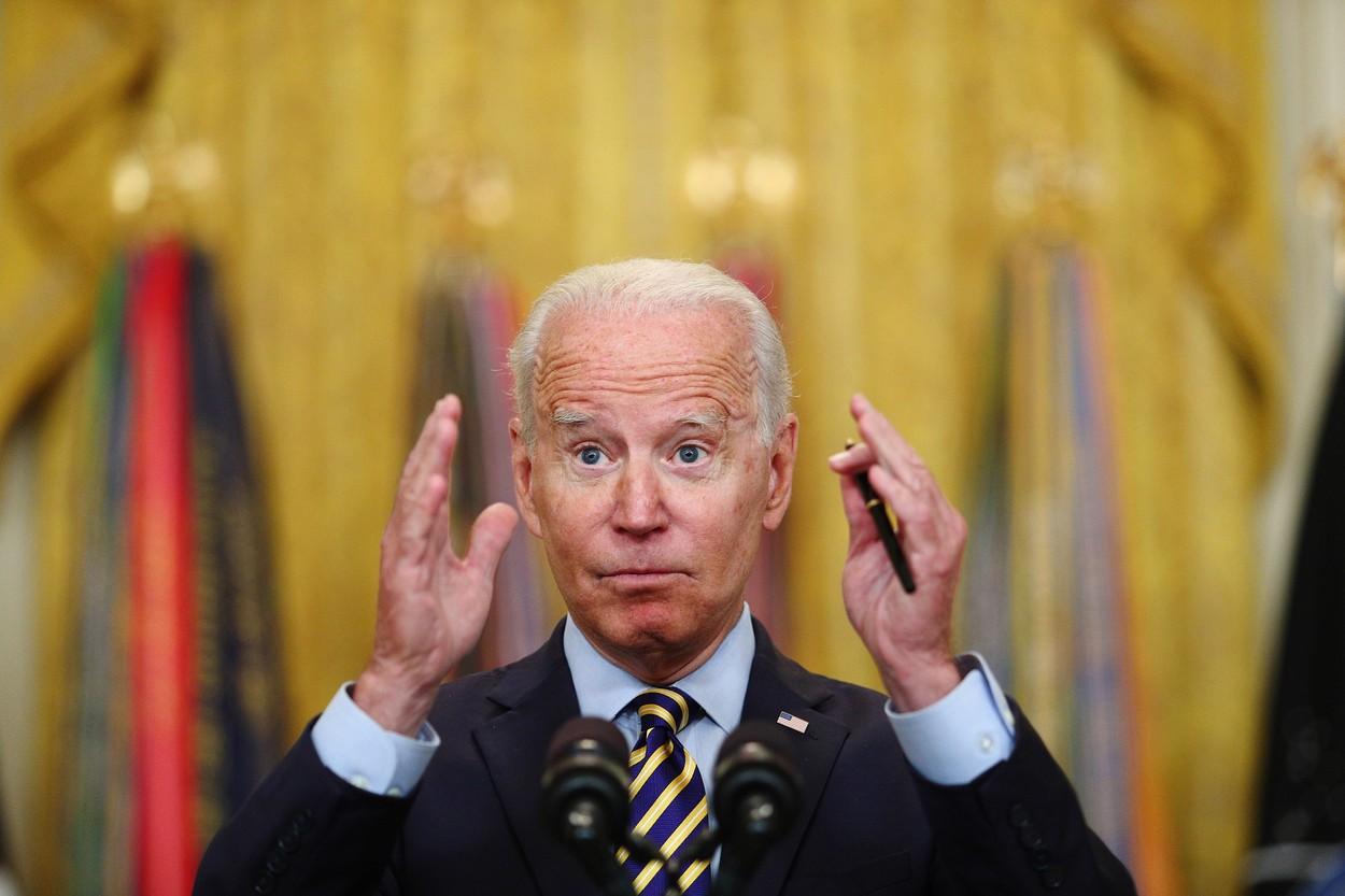 """Președintele Biden """"nu regretă"""" decizia de a retrage trupele americane din Afganistan"""