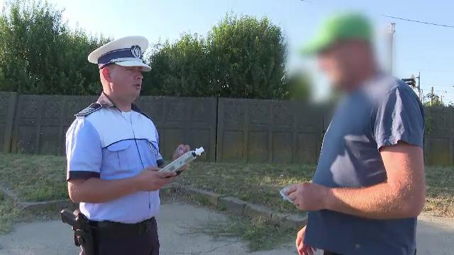 """Șofer de TIR prins cu o alcoolemie de 0,37: """"Aseară am băut o bere"""""""