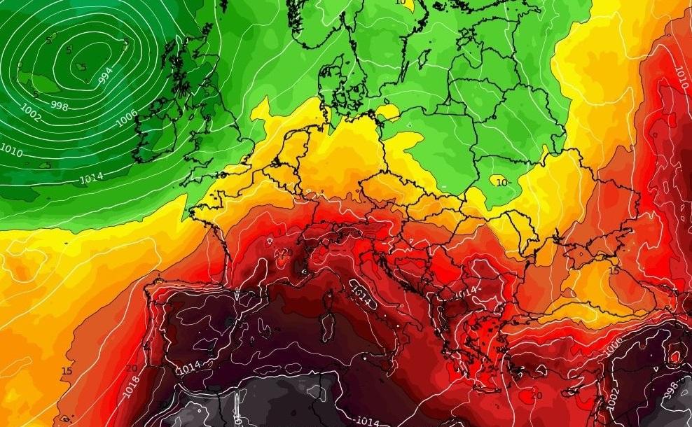 Record de temperatură în Europa. În Sicilia s-au înregistrat 48,8 grade Celsius