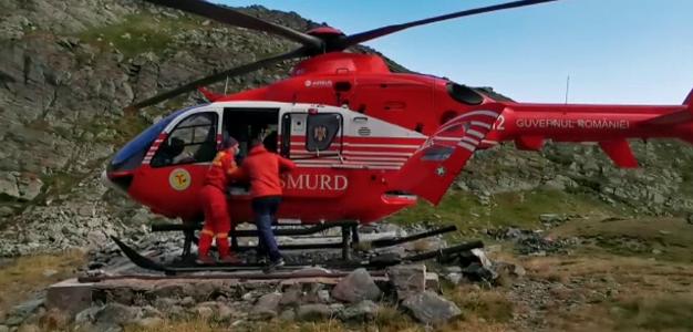 Tragedie în Munții Făgăraș. Un bărbat a murit după ce a căzut de la 100 de metri înălțime