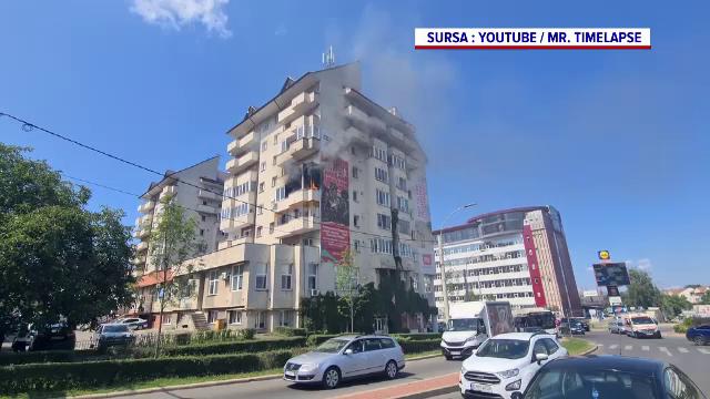 Un incendiu a izbucnit în Cluj Napoca din cauza razelor soarelui. Cum s-a întâmplat