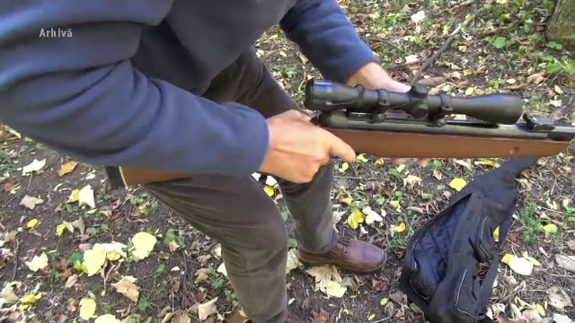 Un bărbat din judeţul Vaslui s-a împuşcat singur în mână, din greșeală, cu arma de vânătoare