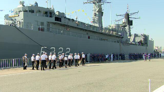 Ziua Porților Deschise pentru cei care vor să vadă navele de război, înainte de Ziua Marinei