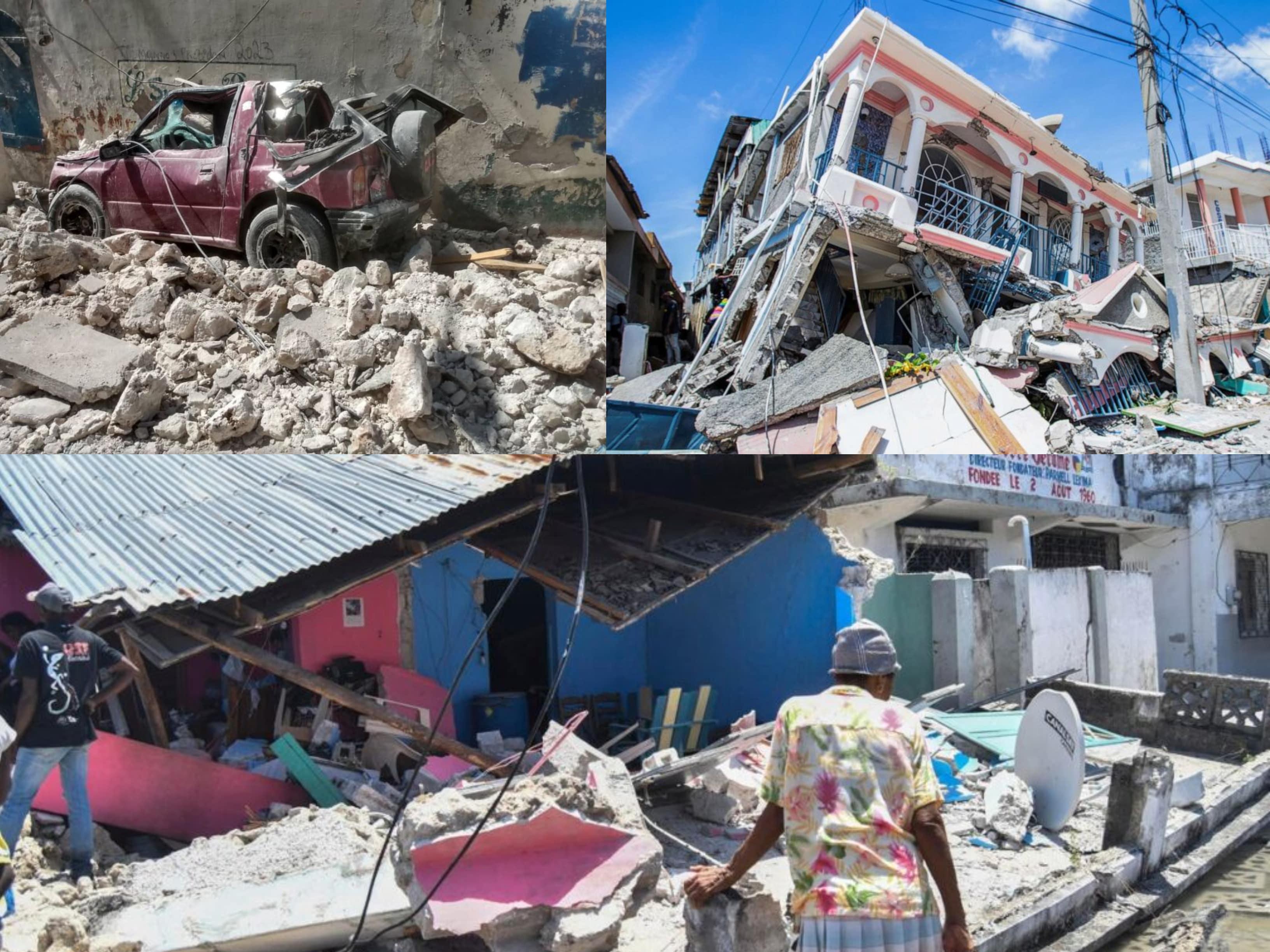 Bilanț negru în Haiti, după cutremurul de 7,2 grade. Numărul morților a ajuns la 724