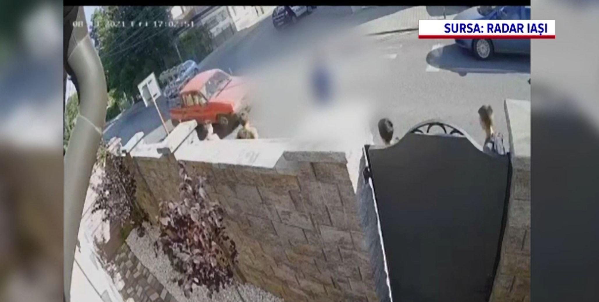Incident șocant în Iași. Un băiat de 14 ani a fost lovit de o mașină chiar pe trecerea de pietoni