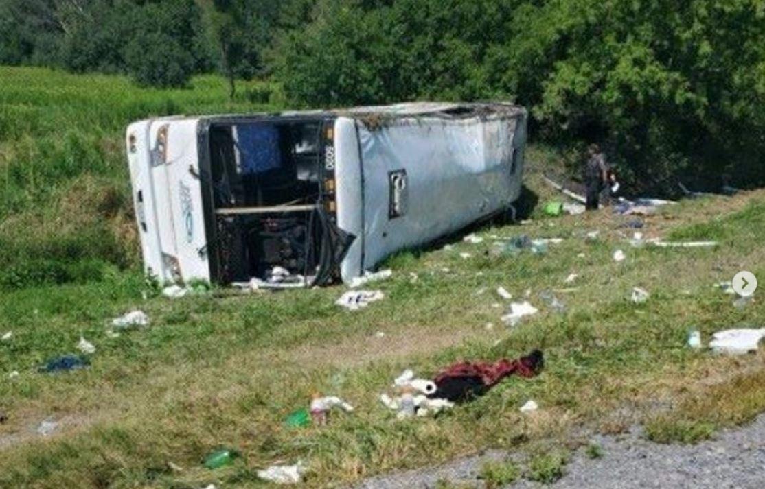 Carnagiu pe o autostradă din Ungaria. Opt persoane au murit într-un accident de autocar