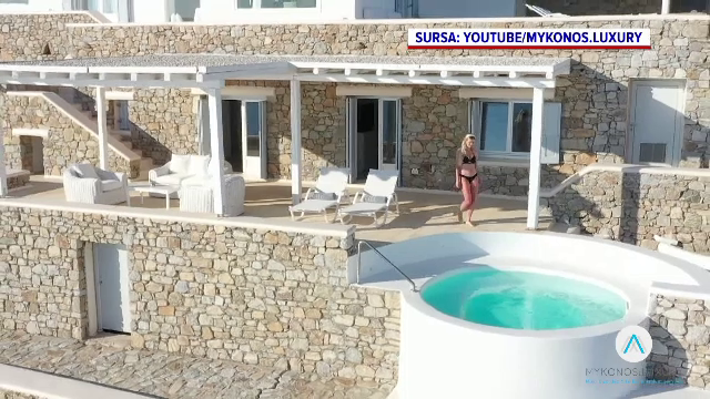 """Dragoș Săvulescu a obținut o reducere de preț la chiria vilei din Mykonos. Va plăti """"doar"""" 8.000 de euro pe zi"""