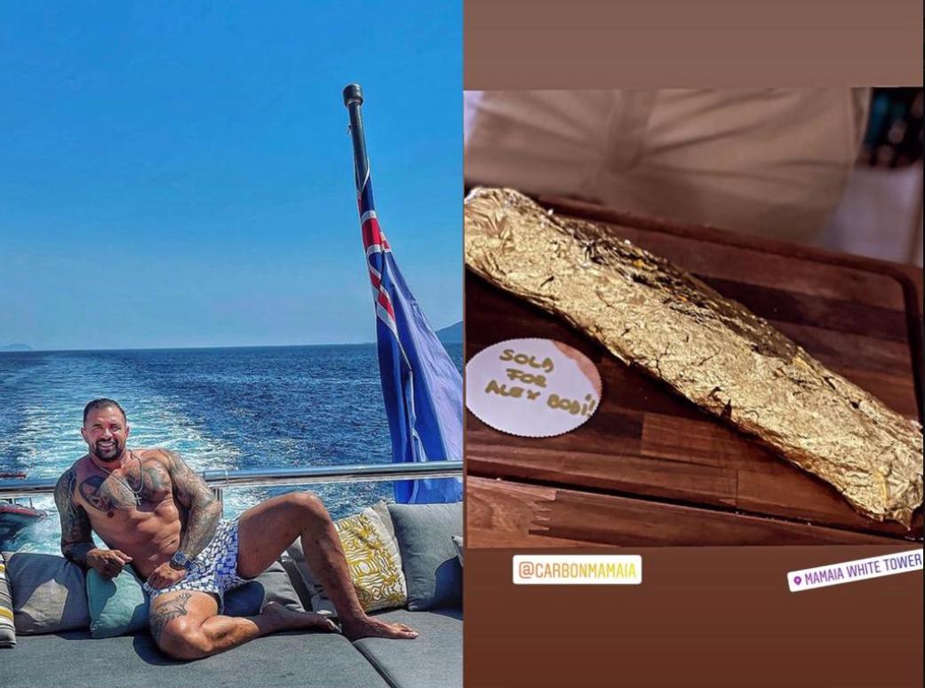 Alex Bodi a mers până în Mamaia doar ca să mănânce o friptură în foiță de aur. Cât costă un astfel de preparat