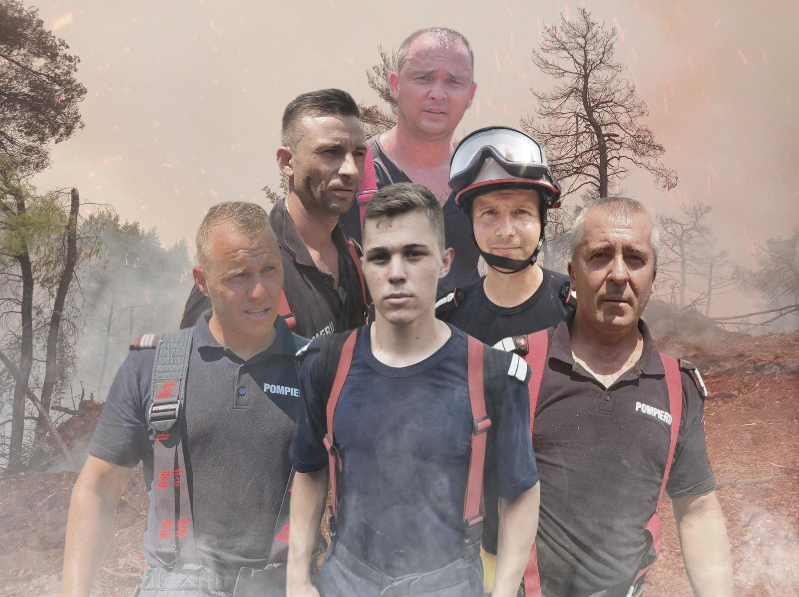 Misiune îndeplinită. Pompierii români trimiși în Grecia se întorc acasă, după ce incendiile au fost lichidate