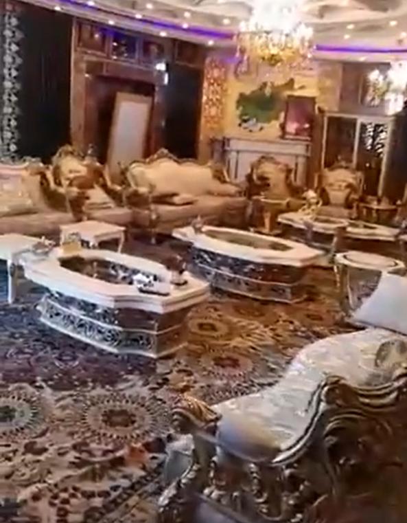 Video. Viața de lux pe care o avea unul dintre liderii militari afgani, prezentată de talibanii care i-au invadat casa