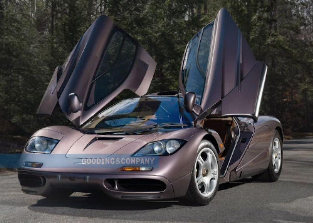 Un McLaren de peste 20 de milioane de dolari, adjudecat de un colecționar anonim