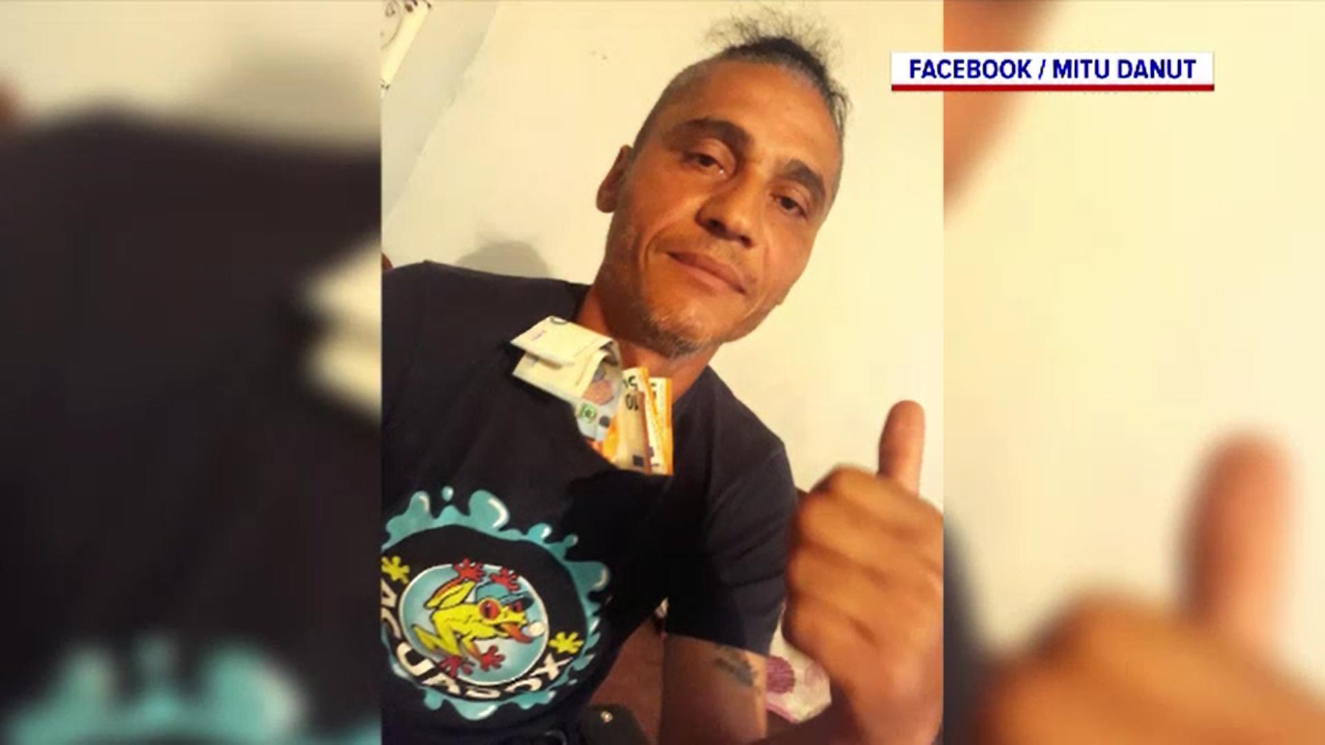 Individul care a ucis un bătrân după ce acesta a scos bani, arestat. Tâlharul a fost prins când făcea live pe Facebook