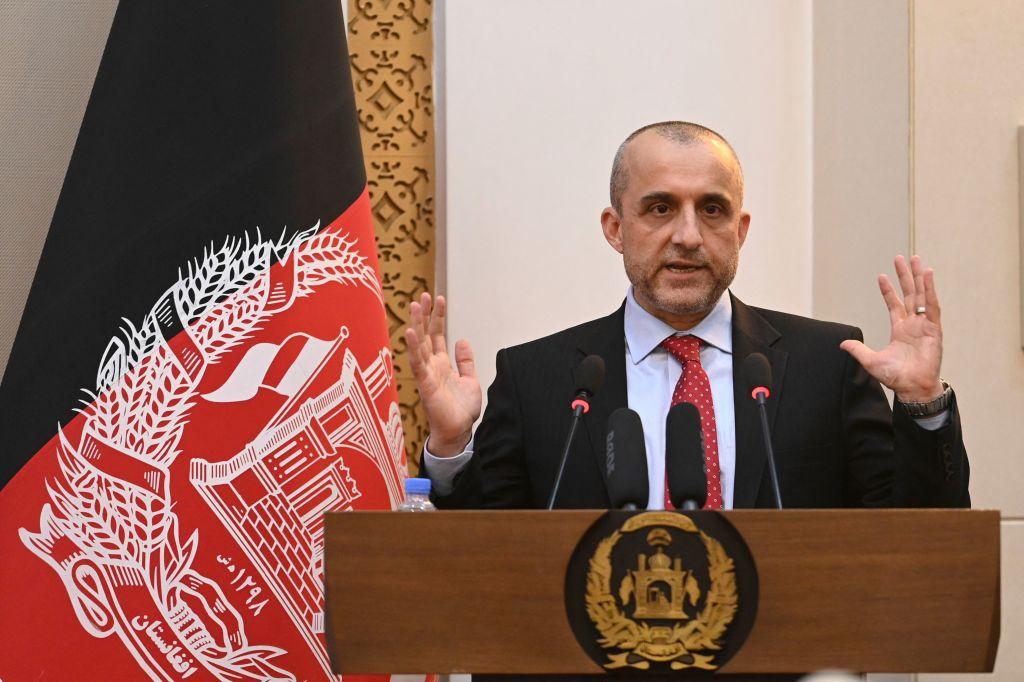 Prim-vicepreşedintele afgan Amrullah Saleh transmite că este