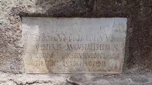 Arheologii au găsit primele dovezi care atestă că limba greacă a fost folosită în Pompei