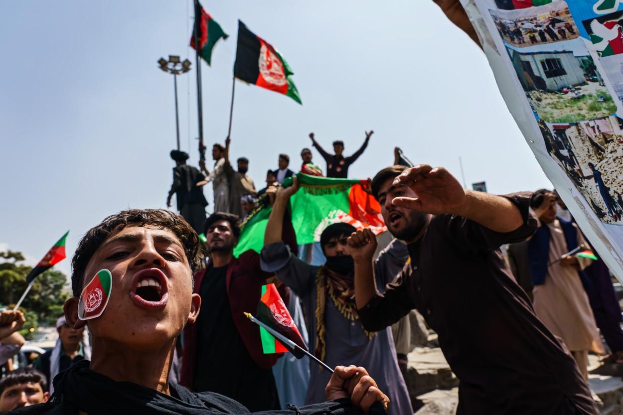 Afganistan: Mesajul talibanilor, după ce oamenii au ieșit în stradă de Ziua Independenței