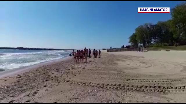 Operațiune dramatică de salvare, la Neptun, lângă reședința prezidențială
