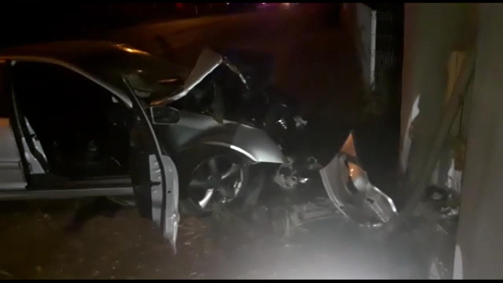 Doi tineri au ajuns în stare gravă la spital după un accident violent petrecut în județul Cluj