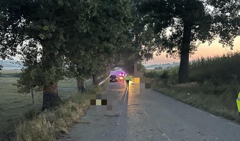Trei tineri au murit după ce autoturismul în care se aflau s-a izbit de un copac