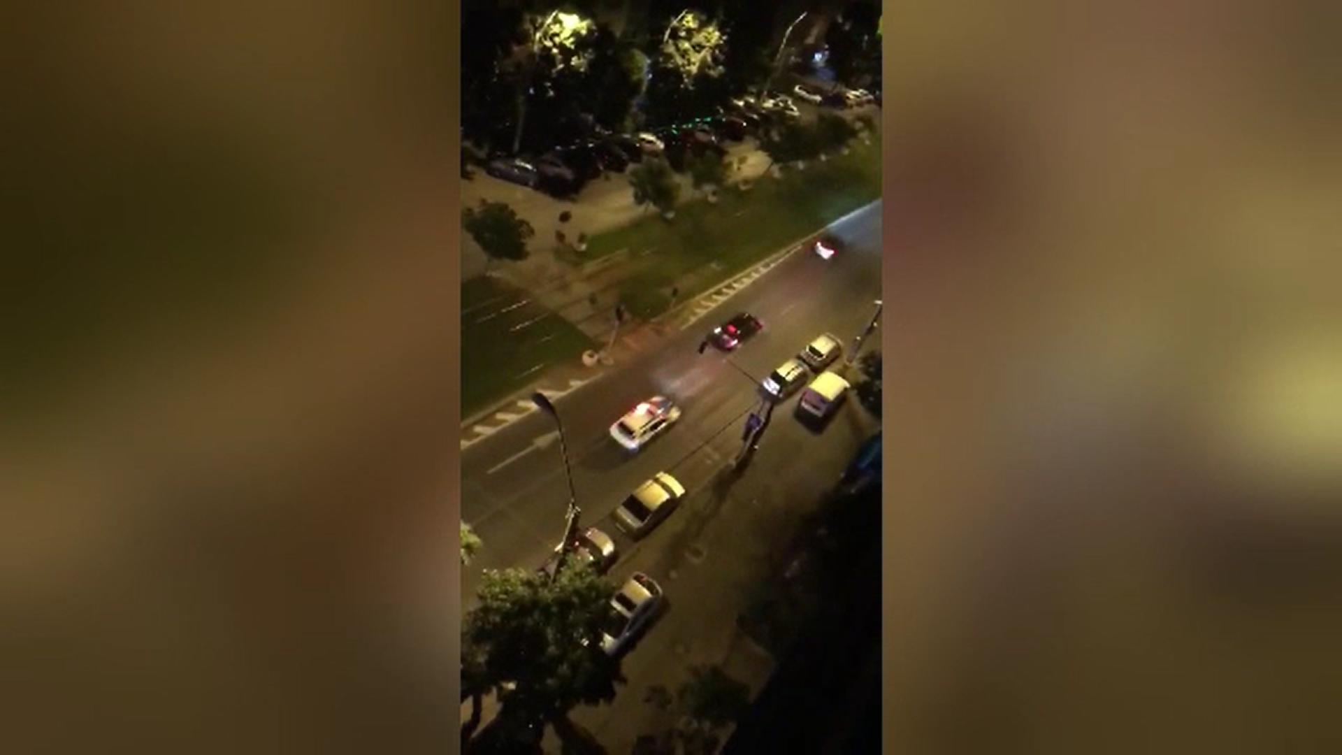 Urmărire cu focuri de armă în Capitală după ce un un şofer n-a oprit la semnalul polițiștilor