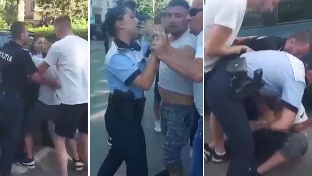 Bărbatul din Botoșani care a lovit o poliţistă a fost plasat în arest la domiciliu