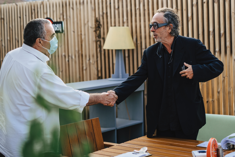 FOTO. Celebrul regizor Tim Burton a fost la Festivalul de Teatru de la Sibiu
