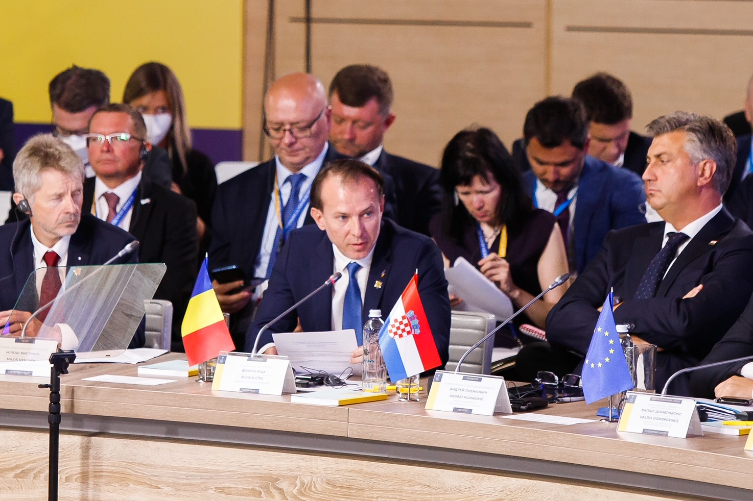 """Summit în Kiev, """"Platforma Crimeea"""". Cîțu: România susține integritatea teritorială a Ucrainei"""