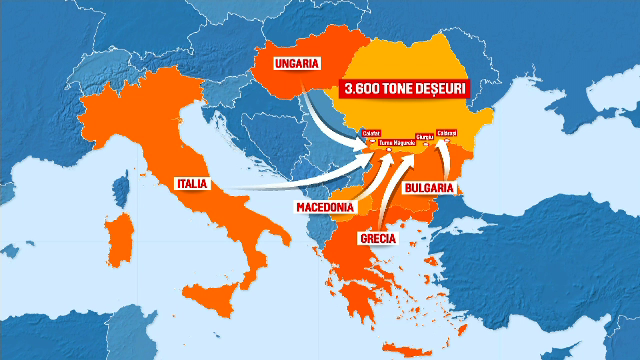 Cum a devenit România groapa de gunoi a UE. Nici măcar China nu le mai permite accesul, noi importăm mii de tone