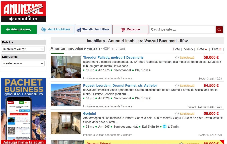 (P) Descoperă cele mai noi oferte și anunțuri imobiliare București pe Anuntul.ro!