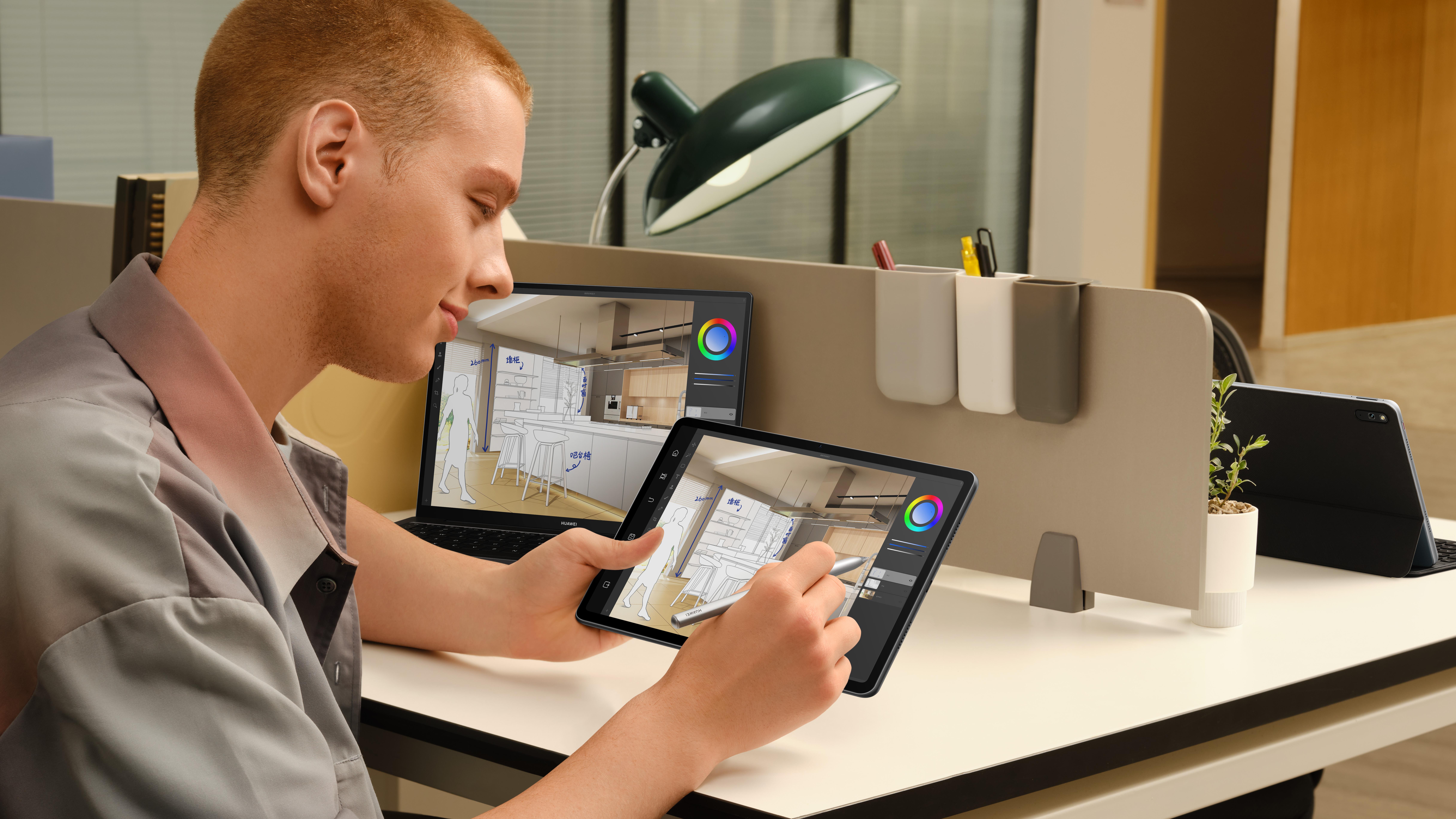 (P) Tips & tricks pentru ilustrație și grafică digitală: HUAWEI MatePad 11, un gadget ideal pentru artiștii digitali