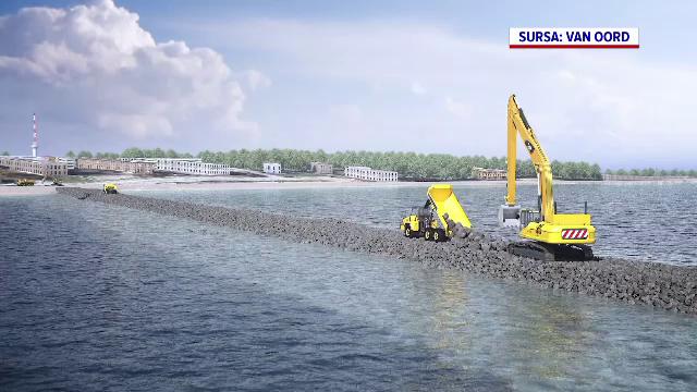 Nemulțumirile turiștilor au schimbat planul autorităților. Plajele din Eforie vor fi extinse cu mai puțin decât era prevăzut