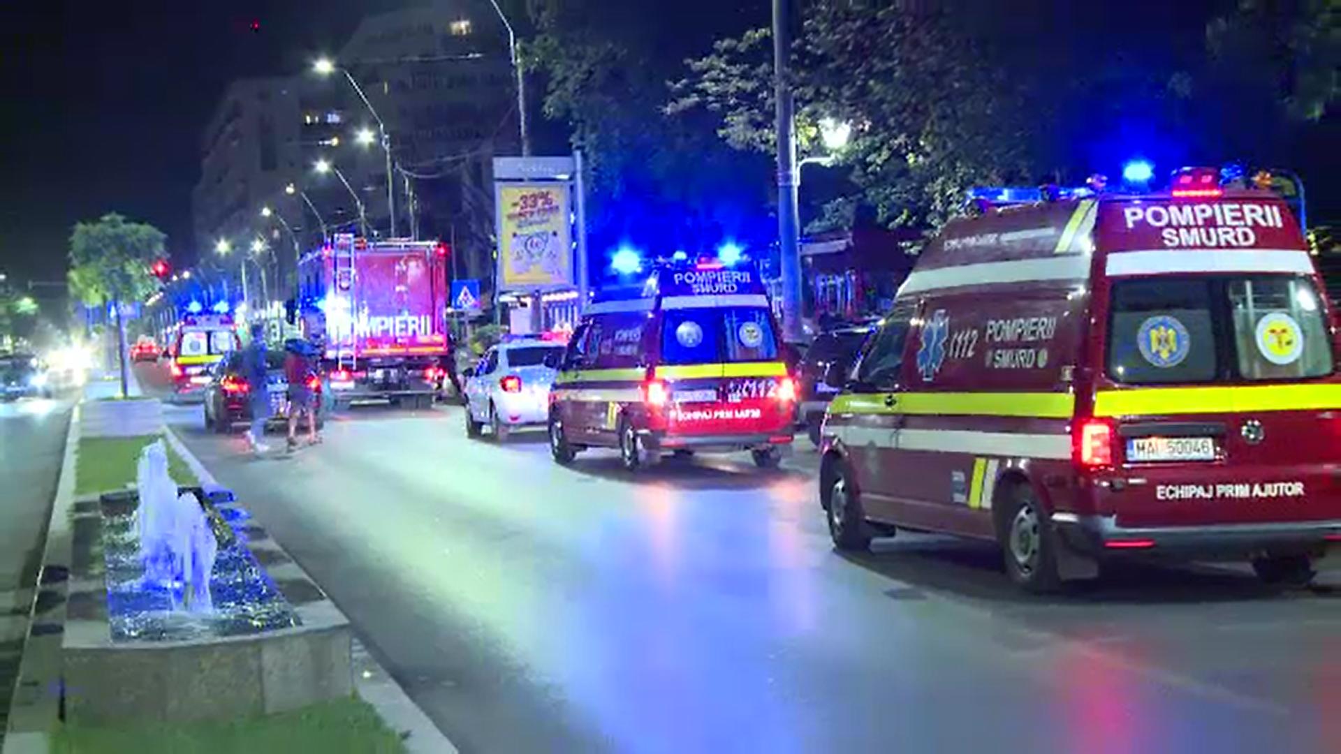 S-a activat planul roșu de intervenție în București după o alarmă falsă de incendiu la spitalul Budimex