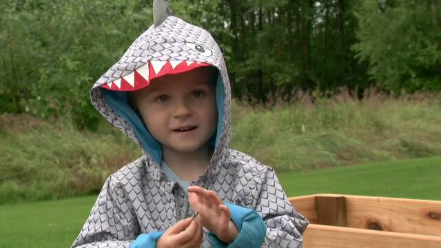 Un băiețel de 4 ani a devenit senzație pe Internet, datorită pasiunii ieșite din comun pentru legume