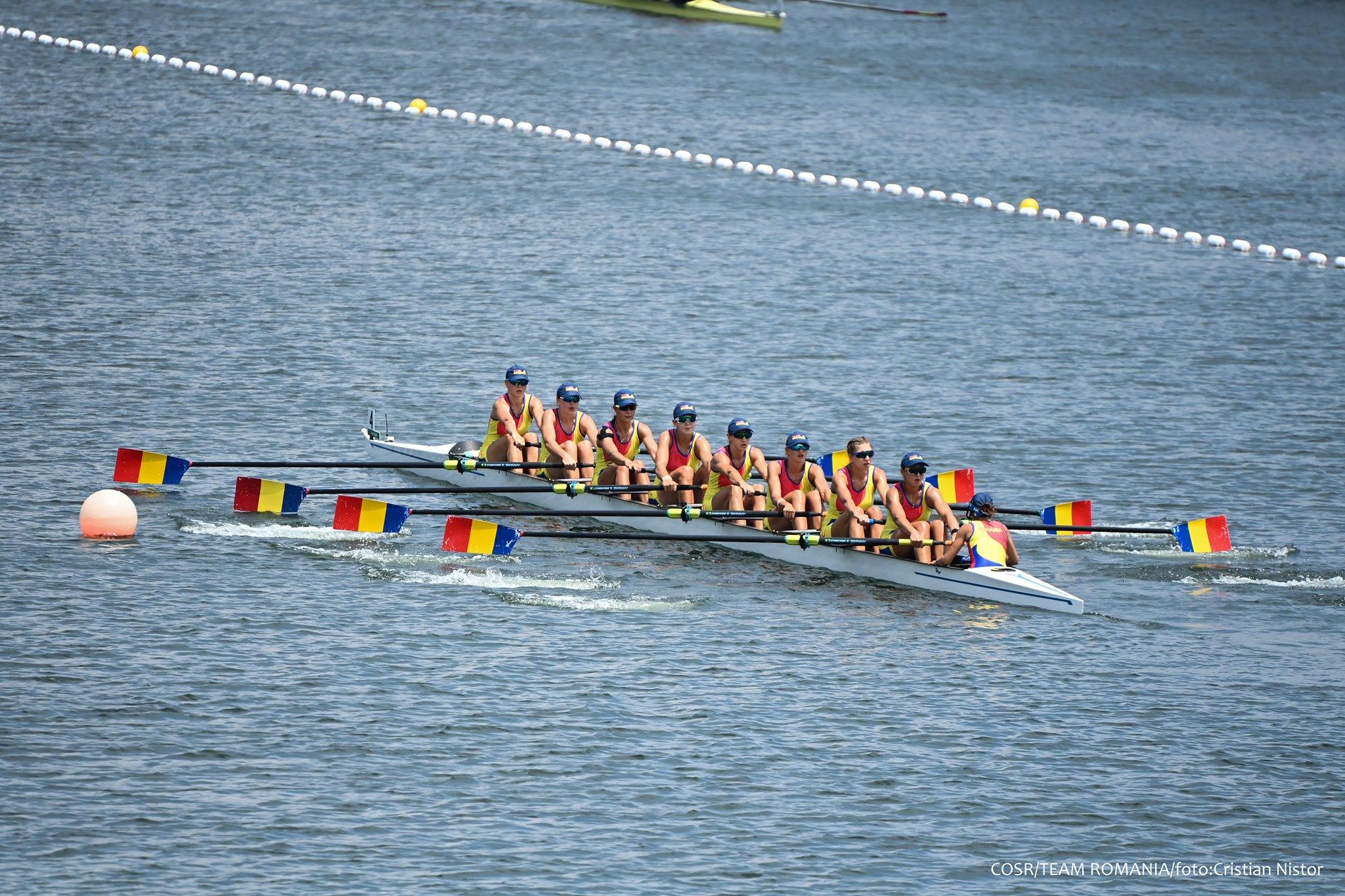 Recordul stabilit la JO de echipajul feminin de 8+1 al României, omologat de Guinness World Records