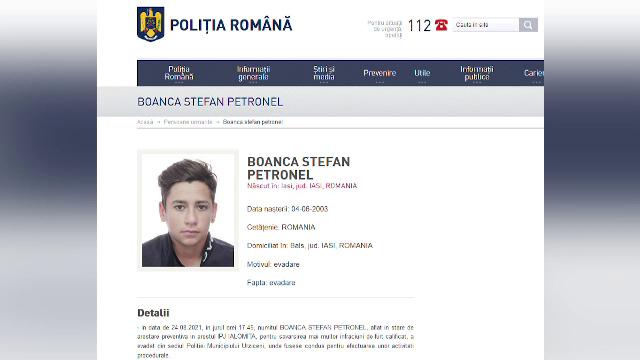 Poliția din Urziceni, vizată de o anchetă a Biroului de Control Intern, după ce un tânăr a evadat la audieri