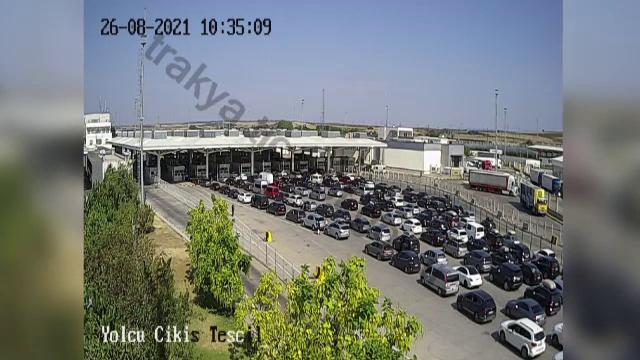Sute de români care se întorc din Turcia, prinși într-o aglomerație de coșmar. Cozile de mașini s-au întins pe kilometri