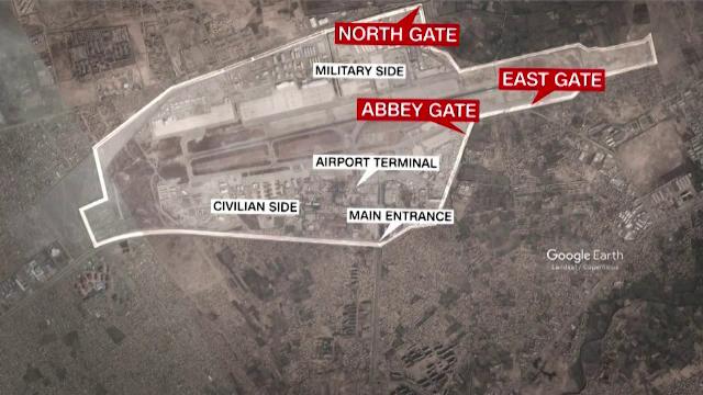 Filmul atacurilor de lângă aeroportul din Kabul, revendicate de ISIS-K. Două explozii au ucis cel puțin 100 de oameni